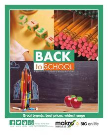 Makro : Back To School (01 Oct - 31 Jan 2018), page 1