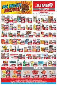 Jumbo Cash & Carry (15 Feb - 20 Feb 2018), page 1