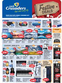 Cash Crusaders : Festive Deals (10 Nov - 3 Dec 2017), page 1