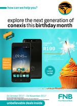FNB Connect : Unbelievable Deals (4 Oct -4 Nov 2017)